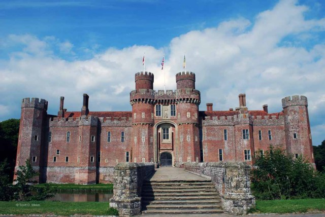 Herstmonceux Castle - East Sussex England
