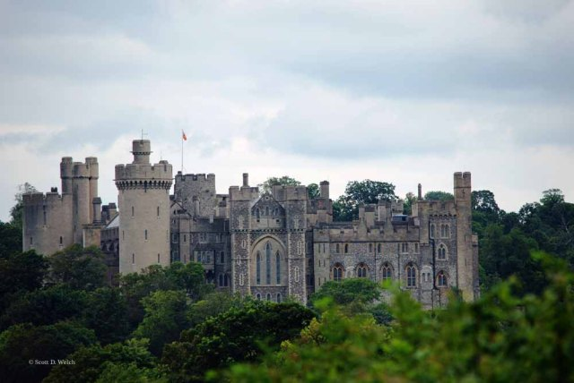 Arundel Castle by Scott D Welch