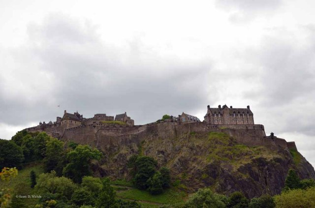 Edinburgh Castle by Scott D Welch