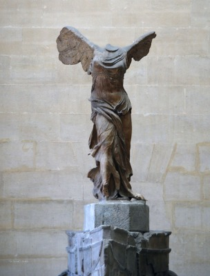 Nike of Samothrace by Scott D Welch