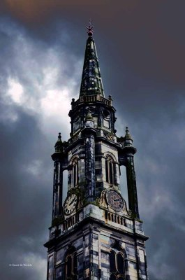 Clock Tower - Edinburgh Scotland