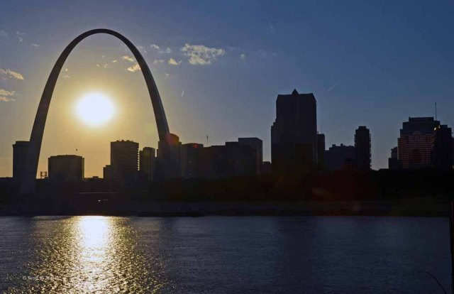 Sunset - Gateway Arch
