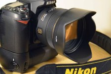 Nikon D90 with MB-D80 and Sigma 50mm f/1.4 EX DG HSM