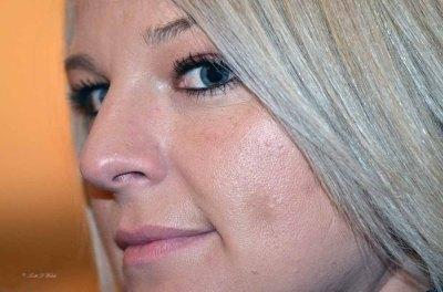Close-Up Portrait of a Bridesmaid