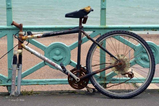 Battered Bike of Brighton