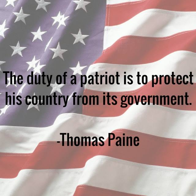 Duty of a Patriot
