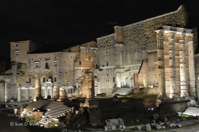 Foro di Augusto - Forum of Augustus and the Temple of Mars Ultor