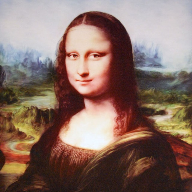 Digital Mona Lisa - Da Vinci