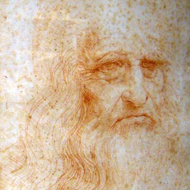 Leonardo Da Vinci Self Portrait - 1515
