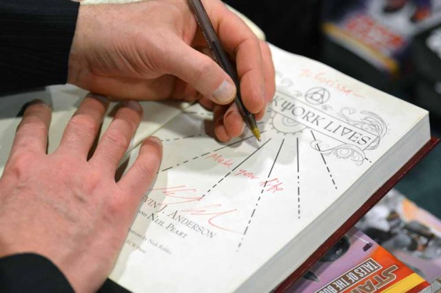 Kevin J Anderson - Clockwork Lives - Magic City Comic Con