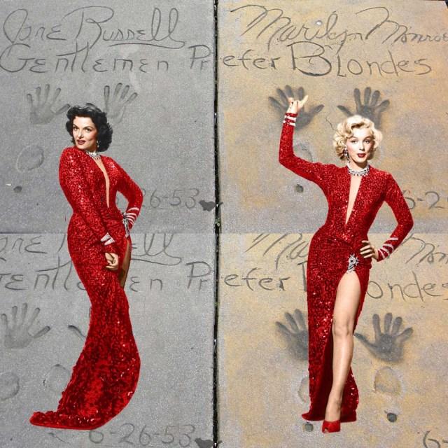 Gentlemen Prefer Blondes - Jane Russell - Marilyn Monroe