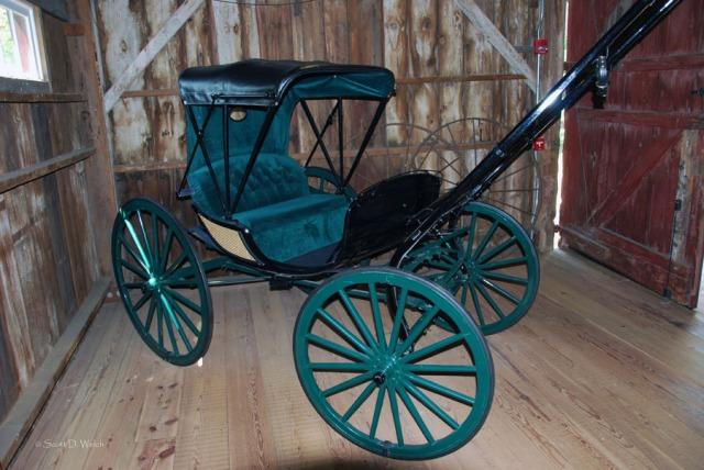 Ulysses S. Grant buggy - National Historic Site - Missouri